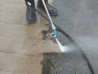 重要な工程 高圧洗浄