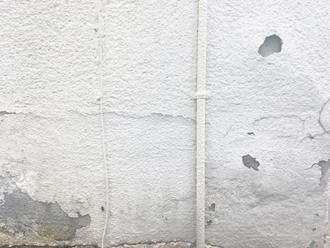 劣化した外壁