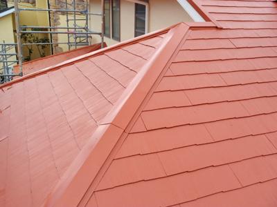 三浦郡葉山町 屋根塗装完了