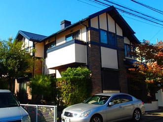 横浜市青葉区 屋根塗装 外壁塗装 施工後