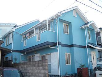 横浜市泉区 外壁塗装 屋根塗装 施工後