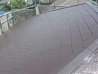横浜市金沢区 屋根塗装 棟板金交換 施工後