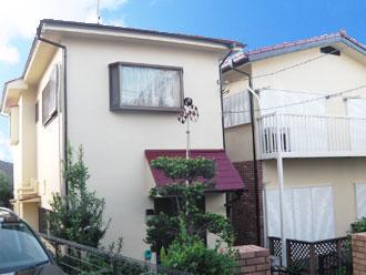 横浜市中区 外壁塗装 屋根塗装 施工後