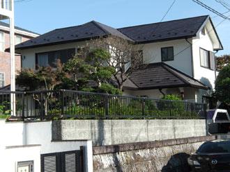 横浜市栄区 屋根カバー・外壁塗装 クリーンマイルドSi 施工後