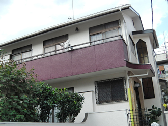 横浜市港南区 外壁塗装 屋根塗装 棟板金交換 施工後