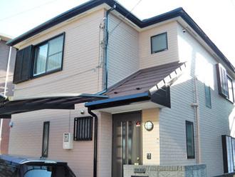横浜市港北区 屋根カバー 外壁塗装 施工後