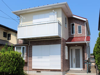 横浜市都筑区 外壁塗装 屋根塗装 施工後