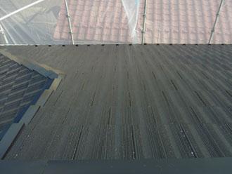 横浜市南区 屋根塗装 施工後