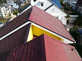 屋根塗装前のアーバニー