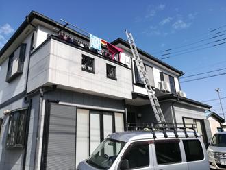 外壁塗装でイメージチェンジ前のお家