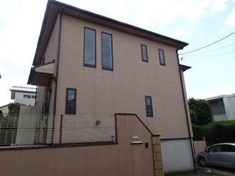 屋根塗装と外壁塗装、施工前