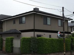 横浜市都筑区 屋根塗装 外壁塗装 屋根の色 外壁の色 カラーシミュレーション パーフェクトトップ サーモアイ