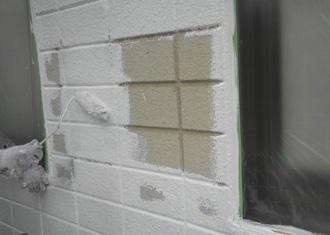 パーフェクトフィーラーによる下地塗装