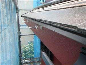 幸区-雨樋交換、吊り金設置