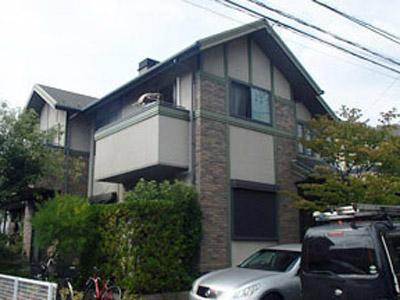 横浜市青葉区 屋根塗装 外壁塗装 施工前