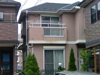横浜市保土ケ谷区 外壁塗装 屋根塗装 施工前