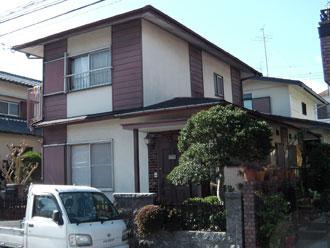 横浜市瀬谷区 外壁塗装 屋根カバー工法 施工前