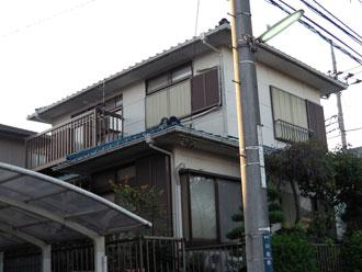 横浜市都筑区|漆喰詰め直しと外壁塗装、ナノコンポジットW 施工前