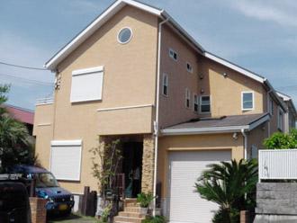 外壁塗装と屋根塗装でお住まいの外周をリフォーム|厚木市、施工前写真