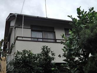 横浜市港南区 外壁塗装 屋根塗装 棟板金交換 施工前