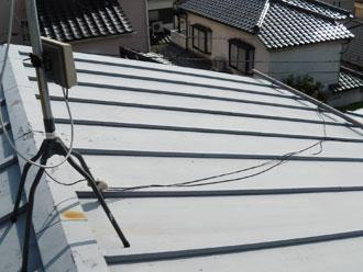 横浜市旭区 屋根塗装 雨樋交換 施工前