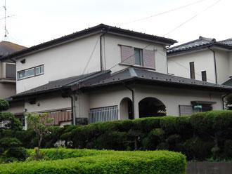 横浜市都筑区 外壁塗装 施工前
