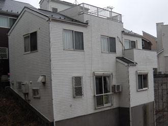 横浜市鶴見区 外壁塗装 屋根塗装 施工前