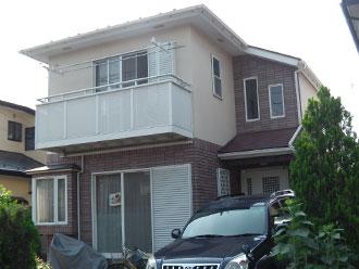 横浜市都筑区 外壁塗装 屋根塗装 施工前