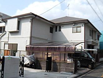 横浜市神奈川区 外壁塗装 屋根塗装 施工前