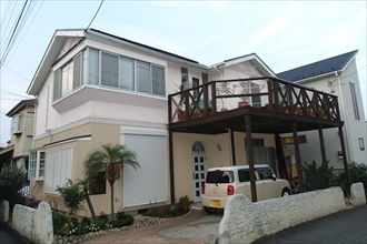 茅ヶ崎|雨樋交換と屋根塗装