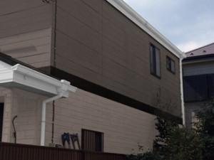 横浜市泉区 屋根塗装 外壁塗装 パーフェクトトップ ツートン ND-322 ND-375