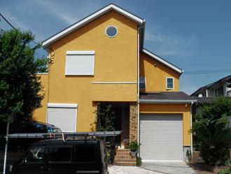 厚木市 塗装工事 カラーシュミレーション1