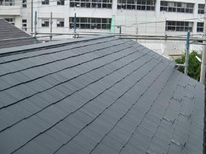 屋根塗装 棟板金交換  横浜市磯子区
