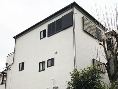 海老名市上今泉にて屋根カバー工法とパーフェクトトップND-373による外壁塗装工事、施工後写真