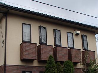 低汚染塗料で外壁塗装前