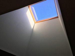 天窓で開放感