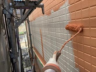 横浜市泉区上飯田町でパーフェクトトップでアパートの外壁塗装工事