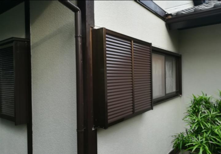 横浜市都筑区牛久保にて、築40年のモルタル外壁をパーフェクトトップ (ND-105)で塗装いたしました