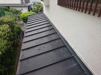 金属屋根,塗装施工前