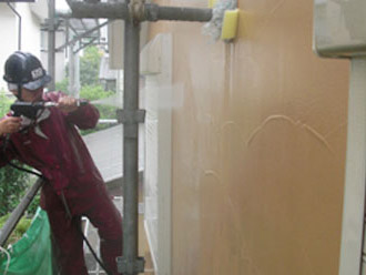 厚木市 外壁塗装 高圧洗浄