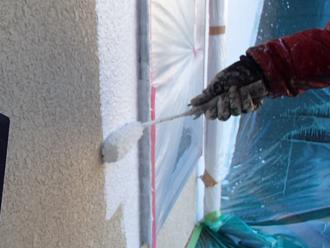 三浦郡葉山町 外壁塗装 下塗り