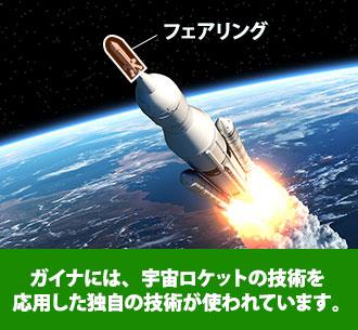 宇宙ロケットの技術を応用