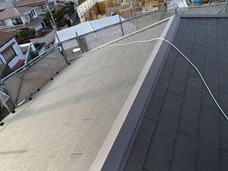 屋根葺き替え、完成