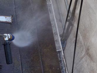 三浦郡葉山町 外壁塗装 屋根塗装 屋根の高圧洗浄