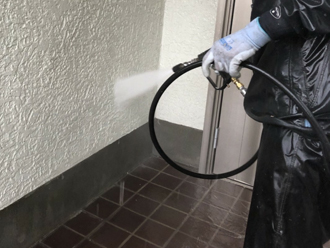 外壁も高圧洗浄
