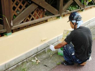 厚木市 外回りの塗装工事