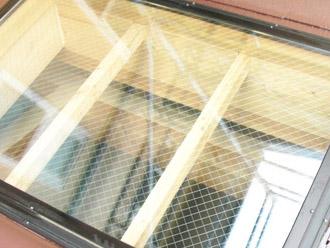 厚木市 塗装工事 窓磨き後