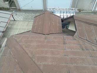 複雑な形状の屋根
