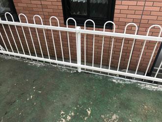 陸屋根を有効活用する柵