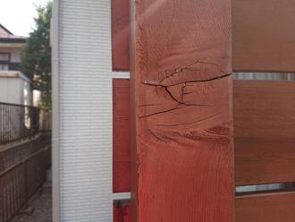 木材のひび